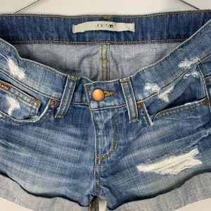 Joe's Jeans Shorts - Joe's denim distressed shorts